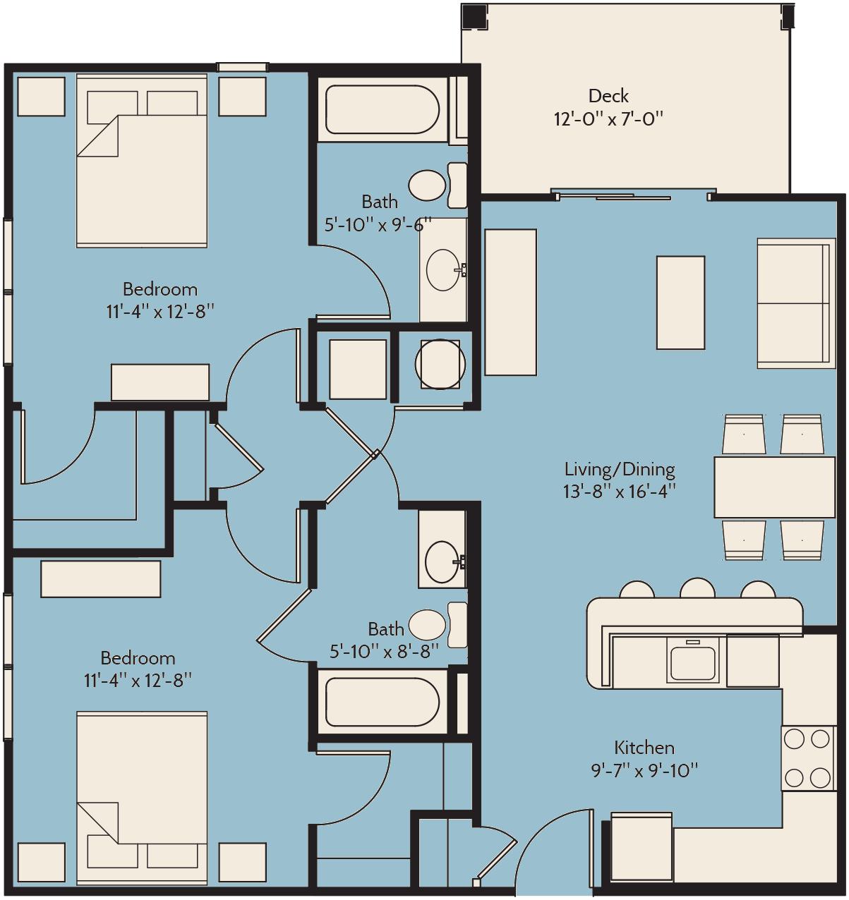 Apartments In Norfolk 1,2 & 3 Bedrooms